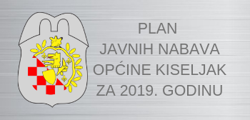 Plan javnih nabava općine Kiseljak za 2019. godinu
