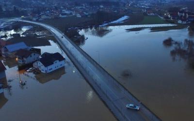 Odluka o proglašenju nastanka stanja prirodne nepogode od poplave i klizišta