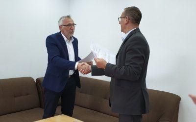 Potpisan Ugovor o korištenju poslovnog prostora