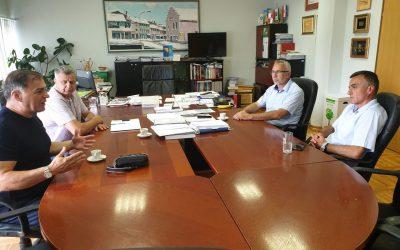 Radni sastanak s ministrom poljoprivrede, vodoprivrede i šumarstva KSB