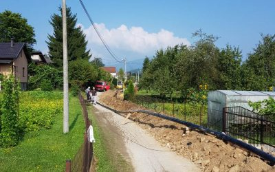 Započeli radovi na izgradnji sekundarne vodovodne mreže na Gromiljaku
