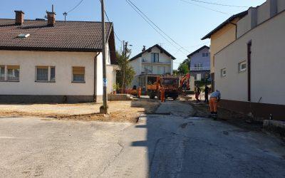 Asfaltirano parkiralište područne ambulante Brestovsko