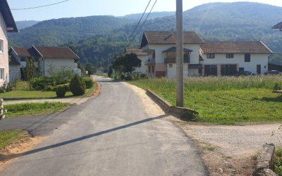 Završena rekonstrukcija lokalnog puta u MP Lug i MP Pločari Polje