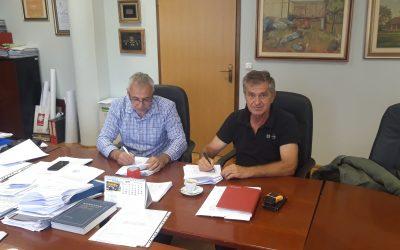 Potpisan ugovor o Izgradnji nogostupa u ulici Bana Josipa Jelačića