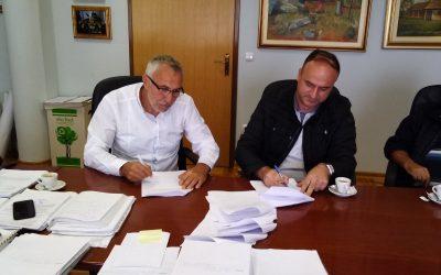 "Potpisan Ugovor o utopljavanju stambene zgrade ""KOREJA"""