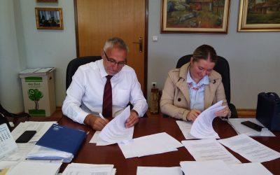 Potpisan Ugovor o izgradnji kanalizacijskog kolektora u MP Pariževići